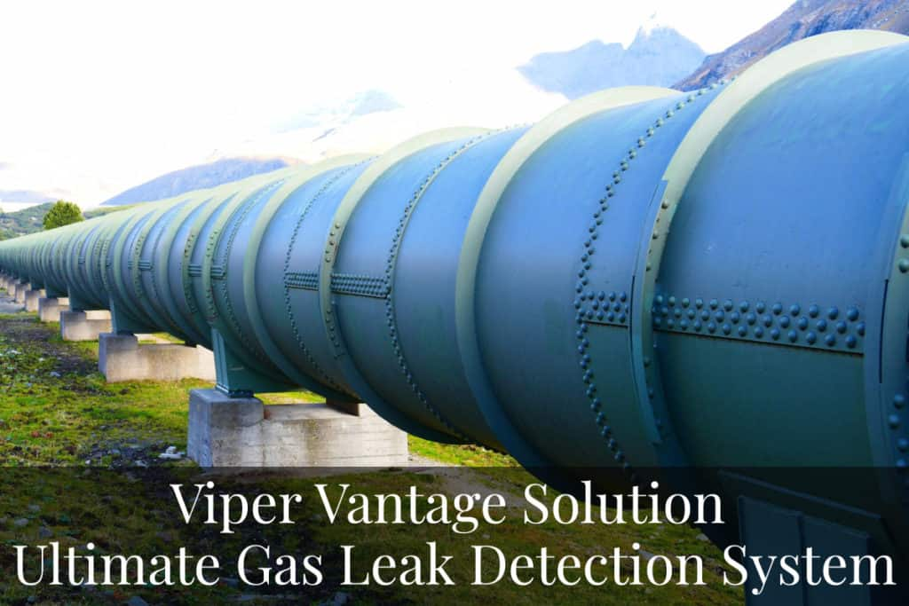 Viper Vantage Detecting Gas Leaks on extended pipeline inspections