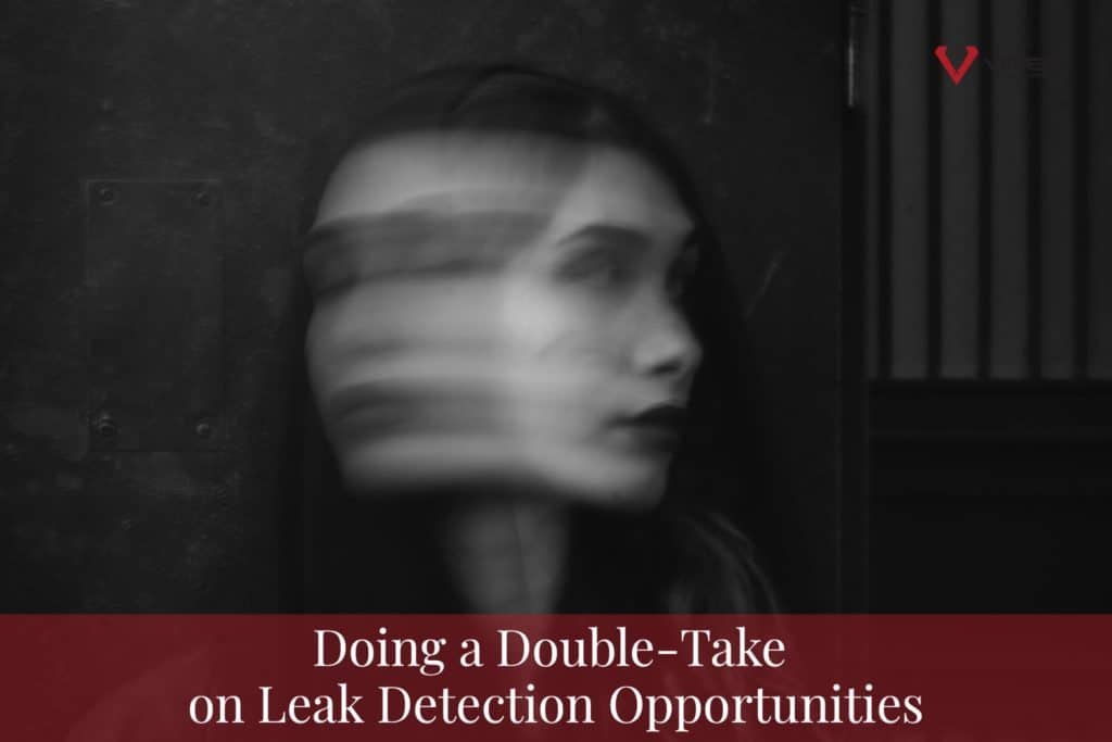 Doing A Double-Take on Leak detection Opportunities