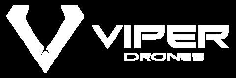 Viper Drones logo White